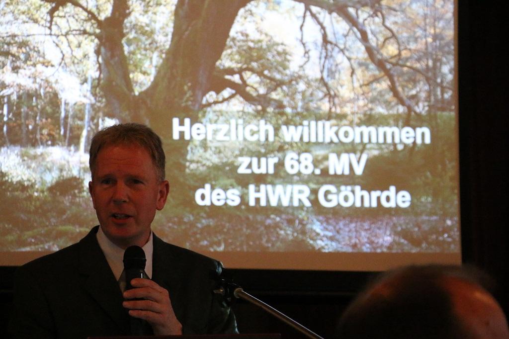 Hochwildring Göhrde 68. Mitgliederversammlung